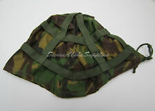 UK BRITISH ARMY SURPLUS WOODLAND DPM HELMET COVER FOR MK.6 KEVLAR OR PARA-SAS/RM