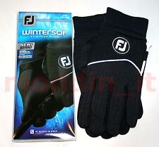 NEW 2014 FOOTJOY WINTER-SOF MENS GOLF GLOVES (ONE PAIR: LEFT AND RIGHT HAND)