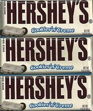 Hershey's ~COOKIES 'N' CRÈME ~White Chocolate, Cookie Pieces ~1.55 oz (43g) Bars