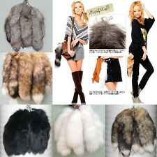 Genuine Fox Tail Fur Tassel Bag Tag Lovely Accessories Keychain Keyring 3 Colors