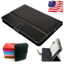 "Carry Case Cover Skin Folio PU Leather Fit For Supersonic Gigabyte 10"" in Tablet"