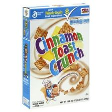 General Mills ~ Cinnamon Toast Crunch  Whole Grain Creals ~ Many Flavor Choices!