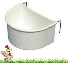 EXTRA LARGE D CUPS CAGE DRINKER FEEDER POULTRY BIRDS RABBIT GUINEA PIG