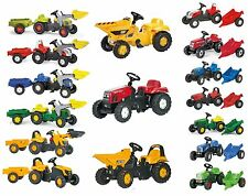Rolly Toys Kid Loaders & Trailers Full Range Of Ride On Pedal Tractors rideon