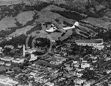 1935 PAN AM CHINA CLIPPER OVER UC BERKELEY PHOTO Largest Sizes