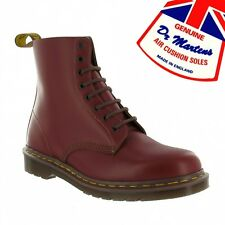 Dr Martens Vintage 1460 Leather Ankle Boots Oxblood