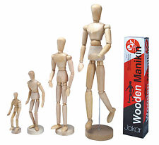 Wooden Manikins Mannequin Male Movable Limbs Human Figure Artist Quality Manakin