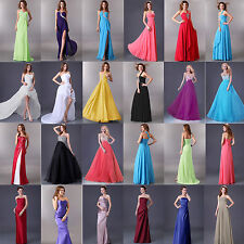Formal Long Evening Party Bridesmaid Cocktail Prom Ball Gown Wedding Dress 2-16