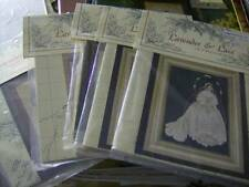 Lavender & Lace Cross Stitch Chart Your Choice- See Pics Below
