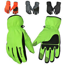 Winter Sports Men's Comfy Warm Cycling Bike Bicycle Full Finger Gloves XS~L