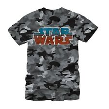 Star Wars Logo Camo Adult T-shirt