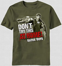 Discovery Channel Gator Boys TV Show Don't try this at home T-shirt Paul Bedard