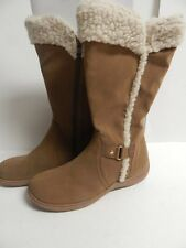 "Karen Scott ""Gaby"" Mid-Calf Boot Hickory Synthetic New With Box"