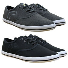 MENS NEW VOI JEANS FIERY LACE-UP PILIMSOLLS TRAINERS IN 2 COLOURS ALL SIZES