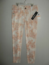 NEW MYMICHELLE WOMENS / JUNIORS SKINNY PANTS FLORAL PRINT SIZE: 7 , 9 , 11