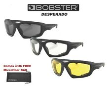 Bobster Sunglasses DESPERADO WITH YELLOW LENS Womens Girls Riding Padded Shades