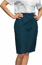 Premier Work Skirt Ladies Lined Easy Care Various Sizes and Lengths Navy Blue