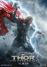 New Movie Poster Print: Thor- The Dark World A3 / A4