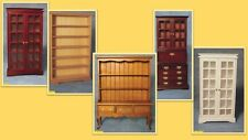 dolls house miniature 1:12 scale dressers & bookcases 5 to choose from.