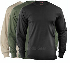 Long Sleeve Tees T-Shirt Military Tactical Long Sleeve Shirts Black Olive Sand