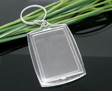 Wholesale Lots Key Chains&Key Rings W/Transparent Picture Frames
