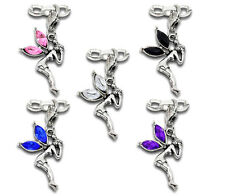 Wholesale Lots Mixed Fairy Clip On Charms Fit Link Chain Bracelet 41mmx20mm