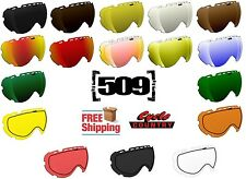 509 AVIATOR 2017 SNOWMOBILE GOGGLE LENSES YOUR CHOICE - COLORS POLARIZED MIRROR