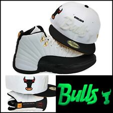 New Era Chicago Bulls Custom Fitted Hat For Air Jordan 12 XII Taxi