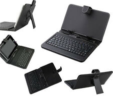 7 Inch Stand PU Leather Cover Case with Keyboard for IPAD Tablet PC