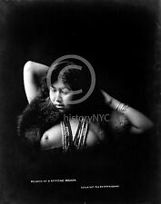 1906 NUDE NATIVE AMERICAN INDIAN WOMAN PHOTO HISTORICAL  Largest Sizes