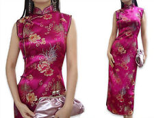 Charming Chinese women's long dress evening dress Cheongsam size S--XXL