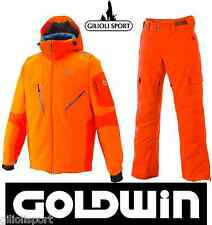 GOLDWIN ARASHI Ski JACKET+Ski PANTS Completo Uomo Sci - SKI SET Orange/B.Orange
