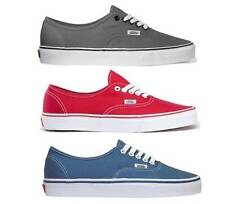 VANS AUTHENTIC MENS / WOMENS CASUAL SHOES SYDNEY SELLER FAST FREE DELIVERY