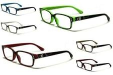 New DG Eyewear Women's Fashion Clear PRESCRIPTION Rx Reading Glasses  R2035DG