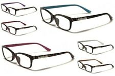 New DG Eyewear Women's Fashion Clear PRESCRIPTION Rx Reading Glasses  R2022DG