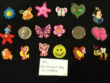 Cute Charms For Rainbow Loom Bracelet Rubber Bands! New beaded in stock also.