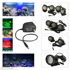 36 LED Submersible Underwater Spot Light for Water Garden Pond Fish Tank US Plug