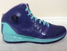 Adidas D Rose 3.5 Purple and Blue New in Box Multiple Sz 9 10 10.5 11 11.5 12