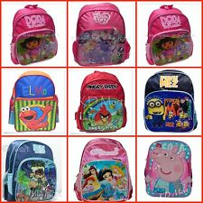 New Boys Girls  Pre-School Daycare Backpack Bag H30*L25*W13 Cartoon multi styles
