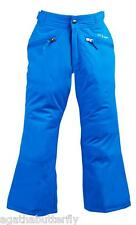 Ski Pants Girls Trousers Turquoise FREE COUNTRY Snow Water & Wind Resistant  NEW
