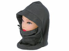 6-in-1 Face Mask Neck Warmer Snood Hood Fleece Scarf Ski Snowboard New
