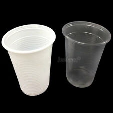 7OZ PLASTIC CUPS DISPOSABLE VENDING STYLE WATER COOLER DRINKING GLASS TABLEWARE