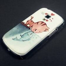 Cat Hard Case Back Cover For Samsung Galaxy Trend S7560 Ace II X S7560M 2X S7562