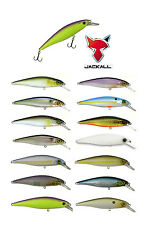 "JACKALL SQUAD MINNOW 80 SUSPENDING JERKBAIT 3.2"" choose colors"