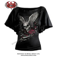 Spiral Direct Girly Top Skull Heavy Metal Punk Gothic fairy  ASCENSION DS126237