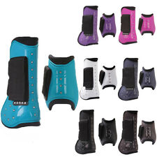 Equestrian Neoprene Showing Dressage Protection Tendon Fetlock Boots Pony Full