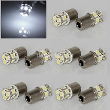 10x White 1156 P21W Ba15s 8 5050 SMD LED Brake Tail Turn Signal Light Bulb Lamp