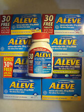 Aleve 220mg Pain and Fever Reducer (Naproxen) 20-270 count tablet/caplet/gelcap