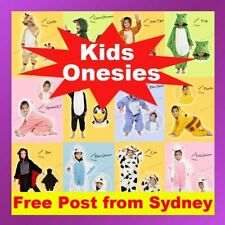 Kids Children's Unisex Kigurumi Animal Cosplay Costume Onesies Pajamas Sleepwear