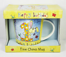 1st 2nd 3rd 4th 5th 6th Happy Birthday Mugs Gift Boxed Present for Children NEW